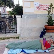Στην 4η μέρα απεργίας πείνας ο Θανάσης στην Κερατέα