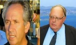 Πρόστιμο 7.000 ευρώ στον Πάγκαλο για τις καταγγελίες κατά Σταύρου Ιατρού όταν το 2011 άγνωστοι τον είχαν γιαουρτώσει έξω από ταβέρνα στα Καλύβια Αττικής.