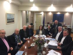 Σύσκεψη με την Υφυπουργό Οικονομικών είχε ο Δήμαρχος Λαυρεωτικής Δημήτρης Λουκάς για τις επαπειλούμενες ιδιοκτησίες κατοίκων του Δήμου μας